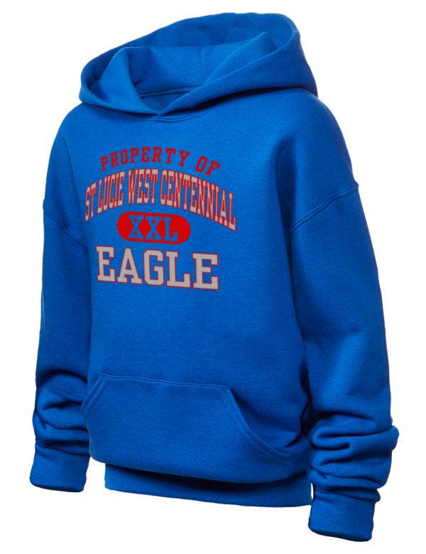st lucie west Centennial High school eagle Boy\'s Sweatshirts