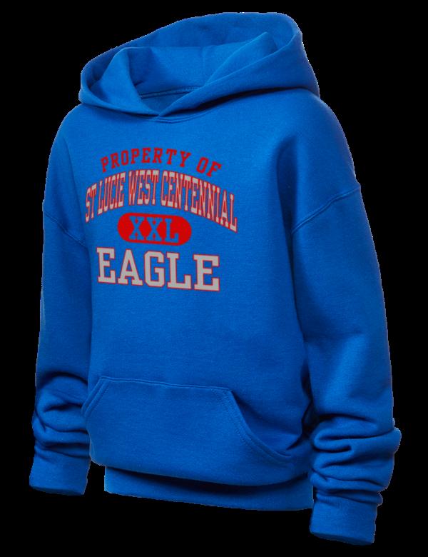 st lucie west Centennial High school eagle Girls Sweatshirts