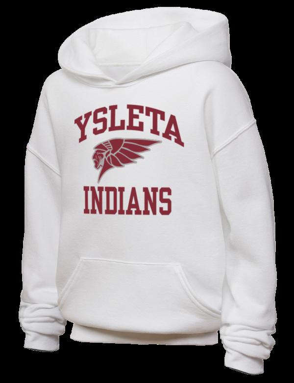 ysleta high school indians jerzees youth hooded sweatshirt prep sportswear. Black Bedroom Furniture Sets. Home Design Ideas