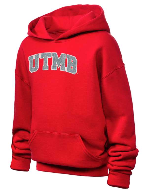 University of Texas Medical Branch at Galveston EST  1891 JERZEES Youth  Hooded Sweatshirt with Sparkle Twill™