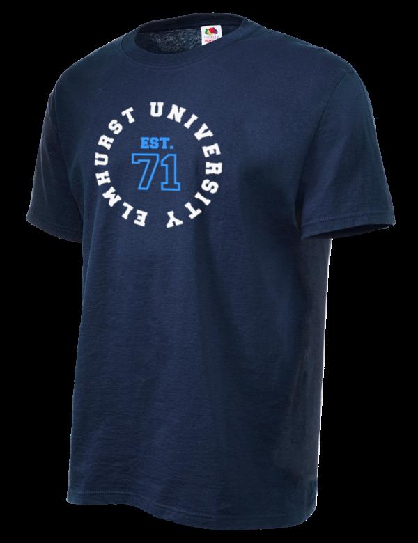 2807b4daa Elmhurst College Bluejays Fruit of the Loom Men's 5oz Cotton T-Shirt
