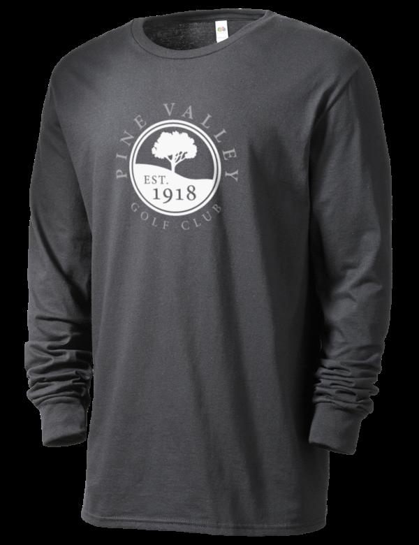 Pine Valley Golf Club Golf Men's T-Shirts - Long Sleeve