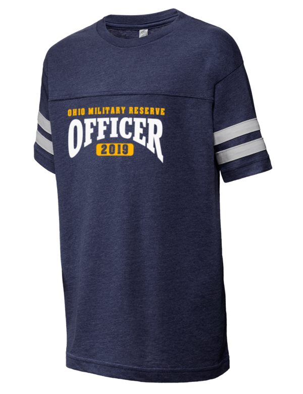 c40639d45722e Ohio Military Reserve Military Police HQ LAT Youth Football T-Shirt