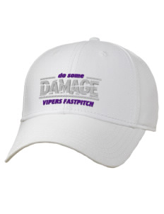 Carlyle Vipers Vipers Fastpitch Fastpitch Embroidered Superior Cotton Twill Low Profile Cap
