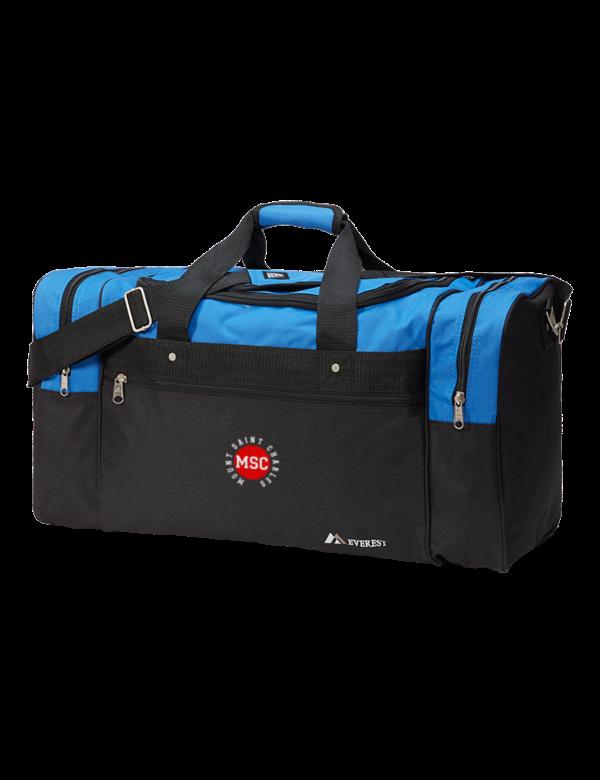 Mount Saint Charles Academy Mounties Duffel Bags
