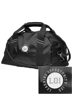 Loadanim Learning Oppurtunity Center Ies Wildcats Embroidered Ogio Half Dome Duffle