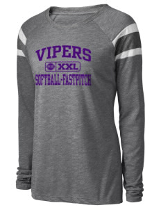 Carlyle Vipers Vipers Fastpitch Fastpitch Augusta Sportswear Women's Long Sleeve Fanatic T-Shirt