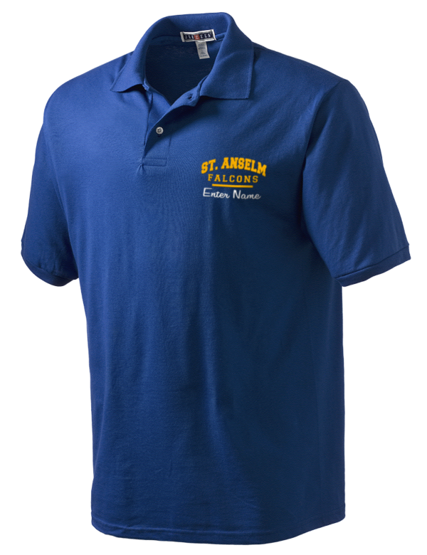 St anselm high school falcons embroidered jerzees men s