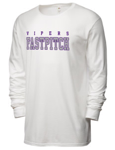 Carlyle Vipers Vipers Fastpitch Fastpitch SofSpun™ Men's 4.7oz Cotton Long Sleeve T-Shirt