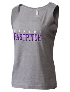 Carlyle Vipers Vipers Fastpitch Fastpitch LAT Women's Premium Jersey Tank Top