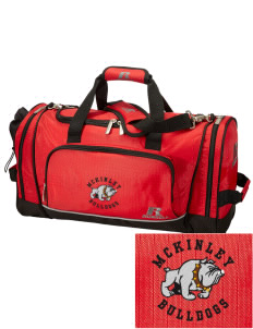 Loadanim Canton Mckinley High School Bulldogs Embroidered Rus Athletic Triple Play 21 Duffle Bag