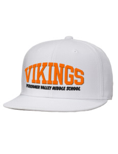 loadanim Perkiomen Valley Middle School Vikings Embroidered Wool Blend Flat  Bill Pro-Style Snapback Cap with fd4317daf88a