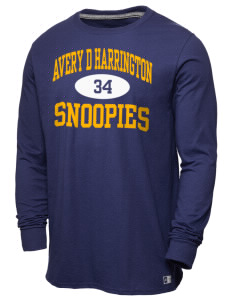 avery d harrington elementary school snoopies men s t shirts long