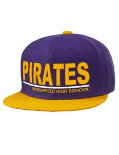 7cb793abb88 Marshfield High School Pirates Flat Bill Caps