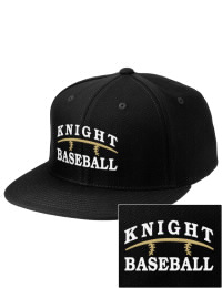 Sport a cool custom pro look, for yourself or the whole team, with this Knight High School Hawks fitted embroidered cap. The Knight High School Hawks sportswear hat is made from innovative poly-wool performance fabric with black underbill and a fiber-tech visor board that is flat as can be, allowing you to bend it -- or not -- however you like your merchandise.
