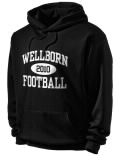 Stay warm and look good in this Walter Wellborn High School hooded sweatshirt.