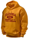 Columbia High School hooded sweatshirt.