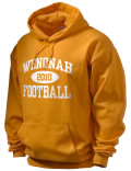 Stay warm and look good in this Wenonah High School hooded sweatshirt. Made of super-soft cotton/poly fleece, it will keep you warm on the sidelines or in the stands. Spandex trim provides extra comfort and the coverseamed construction throughout provides increased durability.