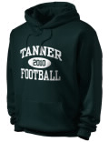 Tanner High School hooded sweatshirt.