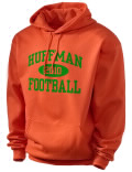 Huffman High School hooded sweatshirt.