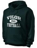 Vigor High School hooded sweatshirt.