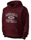 Stay warm and look good in this Gardendale High School hooded sweatshirt.