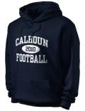 Calhoun High School hooded sweatshirt.