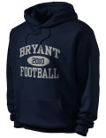 Stay warm and look good in this Alma Bryant High School hooded sweatshirt. Made of super-soft cotton/poly fleece, it will keep you warm on the sidelines or in the stands. Spandex trim provides extra comfort and the coverseamed construction throughout provides increased durability.