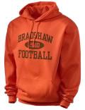 Bradshaw High School hooded sweatshirt.