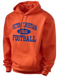 Victory Christian High School hooded sweatshirt.