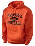 Brooks High School hooded sweatshirt.