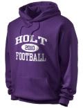 Holt High School hooded sweatshirt.