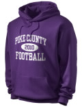 Pike County High School hooded sweatshirt.