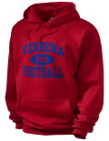 Stay warm and look good in this Verbena High School hooded sweatshirt. Made of super-soft cotton/poly fleece, it will keep you warm on the sidelines or in the stands. Spandex trim provides extra comfort and the coverseamed construction throughout provides increased durability.