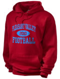 Pleasant Valley High School hooded sweatshirt.