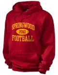Springwood High School hooded sweatshirt.