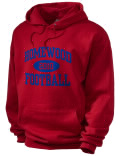 Homewood High School hooded sweatshirt.