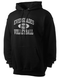 Crafted for comfort, this lighter weight Everglades High School Gators hooded sweatshirt is perfect for relaxing and it's a real value for a sportswear hoody. A must have for the serious Everglades High School Gators apparel and merchandise collection. 50/50 cotton/poly fleece hoodie with two-ply hood, dyed-to-match drawcord, set-in sleeves, and front pouch pocket round out the features of a Gators hooded sweatshirt.