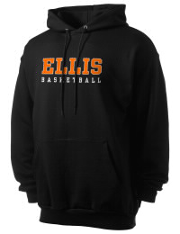 Crafted for comfort, this lighter weight Ellis High School Railroaders hooded sweatshirt is perfect for relaxing and it's a real value for a sportswear hoody. A must have for the serious Ellis High School Railroaders apparel and merchandise collection. 50/50 cotton/poly fleece hoodie with two-ply hood, dyed-to-match drawcord, set-in sleeves, and front pouch pocket round out the features of a Railroaders hooded sweatshirt.