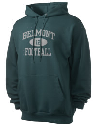 Crafted for comfort, this lighter weight Belmont High School Sentinels hooded sweatshirt is perfect for relaxing and it's a real value for a sportswear hoody. A must have for the serious Belmont High School Sentinels apparel and merchandise collection. 50/50 cotton/poly fleece hoodie with two-ply hood, dyed-to-match drawcord, set-in sleeves, and front pouch pocket round out the features of a Sentinels hooded sweatshirt.
