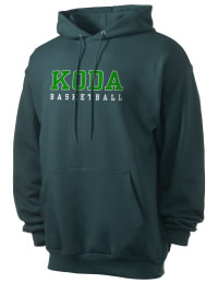 Crafted for comfort, this lighter weight Koda Middle School Indians hooded sweatshirt is perfect for relaxing and it's a real value for a sportswear hoody. A must have for the serious Koda Middle School Indians apparel and merchandise collection. 50/50 cotton/poly fleece hoodie with two-ply hood, dyed-to-match drawcord, set-in sleeves, and front pouch pocket round out the features of a Indians hooded sweatshirt.