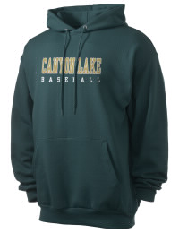 Crafted for comfort, this lighter weight Canyon Lake High School Hawks hooded sweatshirt is perfect for relaxing and it's a real value for a sportswear hoody. A must have for the serious Canyon Lake High School Hawks apparel and merchandise collection. 50/50 cotton/poly fleece hoodie with two-ply hood, dyed-to-match drawcord, set-in sleeves, and front pouch pocket round out the features of a Hawks hooded sweatshirt.