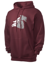 Crafted for comfort, this lighter weight Chatfield Senior High School Chargers hooded sweatshirt is perfect for relaxing and it's a real value for a sportswear hoody. A must have for the serious Chatfield Senior High School Chargers apparel and merchandise collection. 50/50 cotton/poly fleece hoodie with two-ply hood, dyed-to-match drawcord, set-in sleeves, and front pouch pocket round out the features of a Chargers hooded sweatshirt.