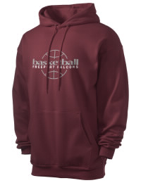 Crafted for comfort, this lighter weight Freeport High School Falcons hooded sweatshirt is perfect for relaxing and it's a real value for a sportswear hoody. A must have for the serious Freeport High School Falcons apparel and merchandise collection. 50/50 cotton/poly fleece hoodie with two-ply hood, dyed-to-match drawcord, set-in sleeves, and front pouch pocket round out the features of a Falcons hooded sweatshirt.