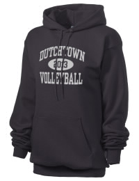 Crafted for comfort, this lighter weight Dutchtown High School Griffins hooded sweatshirt is perfect for relaxing and it's a real value for a sportswear hoody. A must have for the serious Dutchtown High School Griffins apparel and merchandise collection. 50/50 cotton/poly fleece hoodie with two-ply hood, dyed-to-match drawcord, set-in sleeves, and front pouch pocket round out the features of a Griffins hooded sweatshirt.