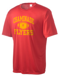 Take on your opponents in maximum comfort in this performance t-shirt. The Chaminade High School Flyers Competitor crewneck T-Shirt is lightweight and offers a roomy, athletic look and helps control moisture.