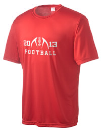 Take on your opponents in maximum comfort in this performance t-shirt. The Burlingame High School Panthers Competitor crewneck T-Shirt is lightweight and offers a roomy, athletic look and helps control moisture.