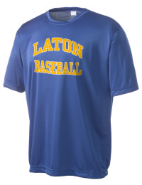 Take on your opponents in maximum comfort in this performance t-shirt. The Laton High School Mustangs Competitor crewneck T-Shirt is lightweight and offers a roomy, athletic look and helps control moisture.