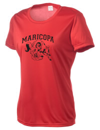 Take on your opponents in maximum comfort. The Maricopa High School Rams Competitor T-Shirt is lightweight and offers a roomy, athletic look and helps control moisture.