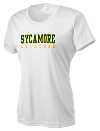 Take on your opponents in maximum comfort. The Sycamore High School Aviators Competitor T-Shirt is lightweight and offers a roomy, athletic look and helps control moisture.